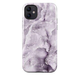 Burga iPhone 12 Mini Tough Fashion Case - Black Currant