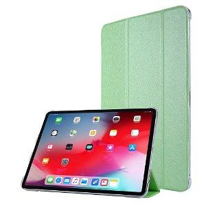 """iPad Pro 12.9"""" (2020) / iPad Pro 12.9"""" (2018) Læder Stand Etui - Tri-Fold - Grøn"""
