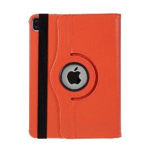 "iPad Air (2020) / Pro 11"" (2020 / 2018) Læder Cover m. 360 Graders Standerfunktion - Orange"