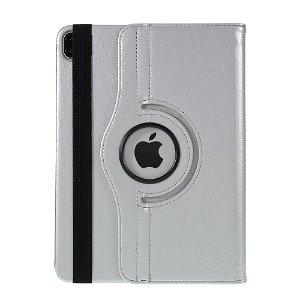 "iPad Pro 12.9"" (2020 / 2018) Læder Cover m. 360⁰ Standerfunktion - Sølv"