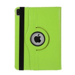 """Apple iPad Pro 12.9"""" (2020 / 2018) Læder Cover m. 360⁰ Standerfunktion - Grøn"""