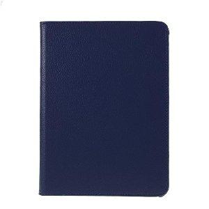 """iPad Pro 12.9"""" (2020 / 2018) Læder Cover m. 360⁰ Standerfunktion - Mørkeblå"""