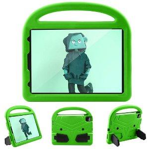 "iPad Pro 11"" (2021 / 2020 / 2018) Cover til Børn m. Fod & Greb - Grøn"
