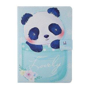 "iPad Pro 11"" (2020 / 2018) Læder Cover m. Stand - Lovely Panda"