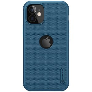 iPhone 12 Mini Nillkin Frosted Shield Case - MagSafe Kompatibel - Blå