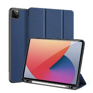 """DUX DUCIS DOMO Series - iPad Pro 11"""" (2021 / 2020) Flip Cover - Blå"""