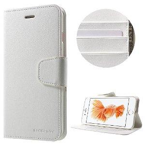 iPhone 8 Plus / 7 Plus MERCURY Sonata Diary Læder Cover Hvid