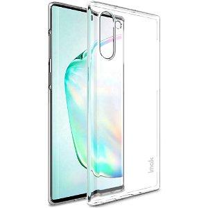 IMAK Crystal Clear Samsung Galaxy Note10 Hård Plastik Cover - Gennemsigtig