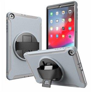 Samsung Galaxy Tab A 10.1 (2019) Håndværker Case m. Håndholder - Grå