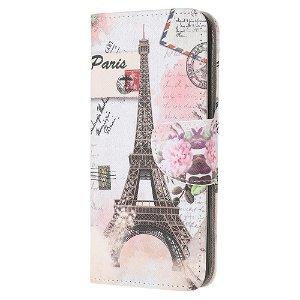 Samsung Galaxy Note 10 Lite Læder Cover m. Kortholder - Eiffeltårnet