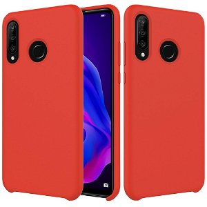 Huawei P30 Lite Liquid Silicone Cover - Rød