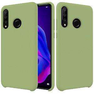 Huawei P30 Lite Liquid Silicone Cover - Grøn