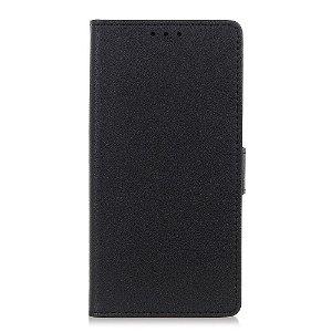Huawei P Smart Z Læder Cover m. Kortholder Sort