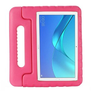 Huawei Honor Pad 5 8.0 Børne Cover - Kids Portable Stand Cover - Pink