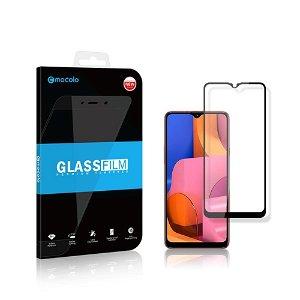 Mocolo Samsung Galaxy A20s Full-Fit Skærmbeskyttelse - Sort