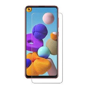 Samsung Galaxy A21s Beskyttelsesglas - Case Friendly - Skærmbeskyttelse - Gennemsigtig