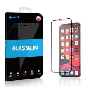 Mocolo iPhone 12 Pro Max Full-Fit Skærmbeskyttelse - Sort