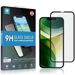 iPhone 13 Pro Max MOCOLO Full-Fit Hærdet Glas - Skærmbeskyttelse - Sort Kant