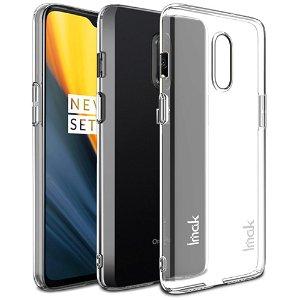 IMAK Crystal Clear OnePlus 7 Hard Case - Gennemsigtig