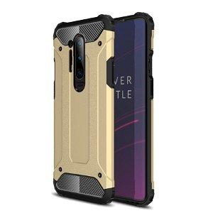 OnePlus 8 Pro Armor Guard Hard Case Håndværker Case - Guld