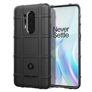 OnePlus 8 Pro Cover Rugged Shield Series - Sort