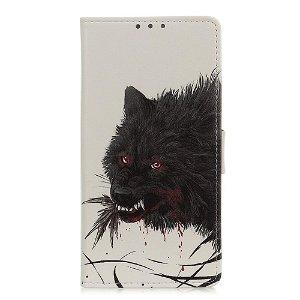OnePlus Nord Læder Cover m. Kortholder - Bloody Wolf