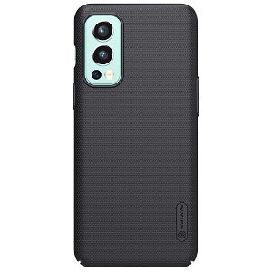 NILLKIN OnePlus Nord 2 (5G) Frosted Shield Cover inkl. Stander - Sort
