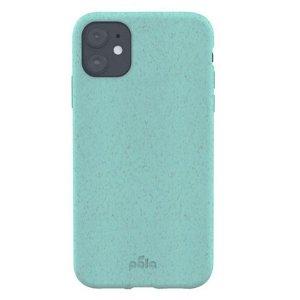 Pela Slim Miljøvenligt 100% Kompostbart Cover Til iPhone 11 - Blå