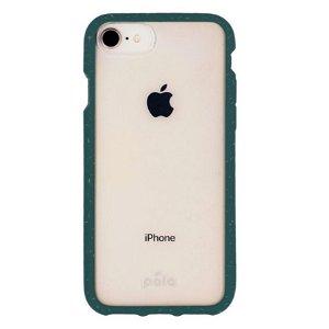 Pela Clear Miljøvenligt 100% Nedbrydeligt Cover Til iPhone SE (2020) / 8 / 7 / 6 / 6s - Grøn