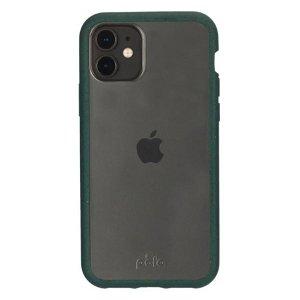 Pela Clear Miljøvenligt 100% Nedbrydeligt Cover Til iPhone 11 - Grøn