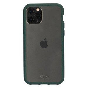 Pela Clear Miljøvenligt 100% Nedbrydeligt Cover Til iPhone 11 Pro - Grøn