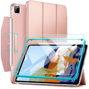 iPad Pro 11 (2021) ESR Ascend Tri-Fold Flip Cover - Rose Gold