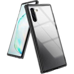 Ringke Fusion Samsung Galaxy Note10 Cover - Gennemsigtig / Sort