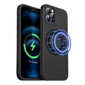 iPhone 12 Pro Max ESR MagSafe Kompatibel Cloud HaloLock Case V2  - Sort