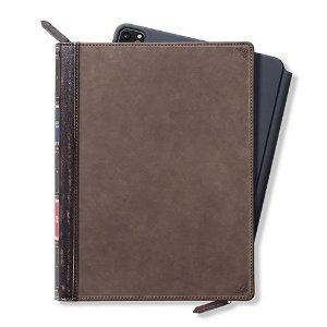 iPad Pro 12.9 (2021 / 2020 / 2018) Case Twelve South BookBook Ægte Læder - Brun
