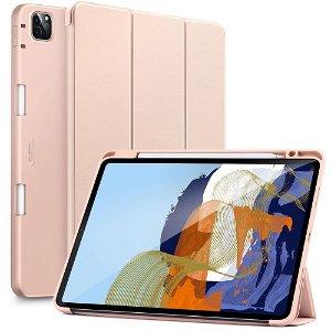 iPad Pro 11 (2021 / 2020 / 2018) ESR Rebound Case Med Apple Pencil Holder - Rose Gold