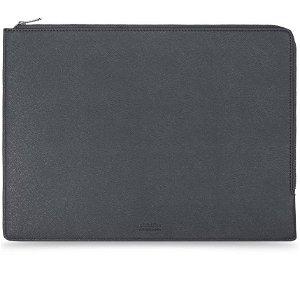 """Holdit Læder Laptop Case 13.3"""" - Sort"""