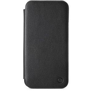 Holdit iPhone 12 Mini Slim Flip Cover m. Pung - Sort