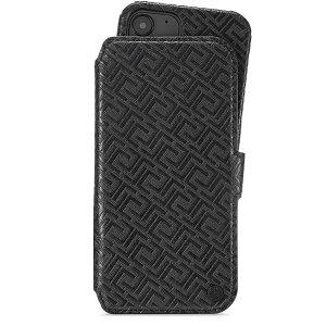 Holdit iPhone 12 Pro / 12 Wallet Magnet Case - Stockholm Celia - Sort