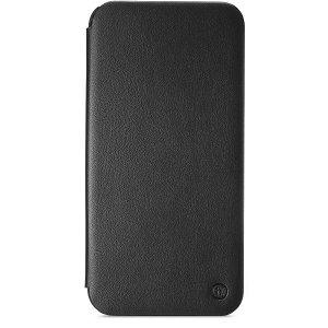 Holdit iPhone 12 Pro Max Slim Flip Cover m. Pung - Sort