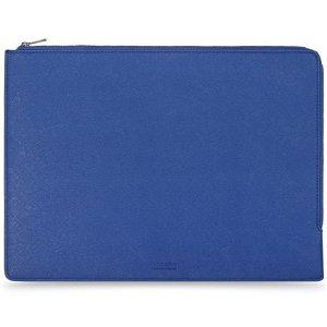 """Holdit Læder Laptop Case 13.3"""" - Blå"""