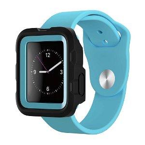 Apple Watch (42mm) Griffin Survivor Tactical Cover - Sort / Blå
