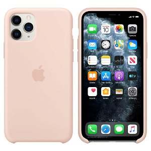 Original Apple iPhone 11 Pro Silicone Case Pink Sand (MWYM2ZM/A)