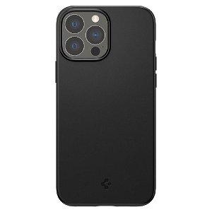 Spigen iPhone 13 Pro Max Thin Fit Cover - Sort