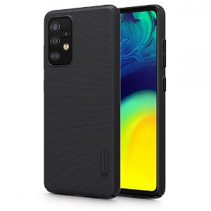 Samsung Galaxy A52s (5G) / A52 (4G / 5G) NILLKIN Frosted Shield Case inkl. Stander - Sort