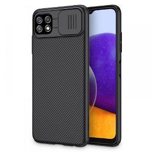 Samsung Galaxy A22 (5G) Nillkin Camshield Bagside Cover - Sort