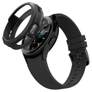 Samsung Galaxy Watch 4 Classic (46mm) Spigen Liquid Air Plast Cover - Sort