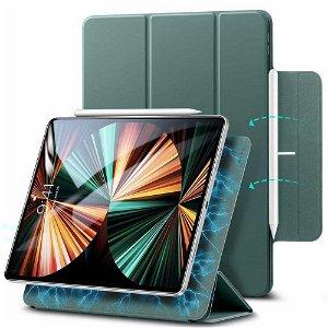 iPad Pro 11 (2021 / 2020 / 2018) ESR Rebound Case Med Apple Pencil Holder - Forest Green