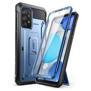 Samsung Galaxy A52s (5G) / A52 (4G / 5G) SUPCASE Unicorn Beetle Pro Cover - Inkl. Skærmbeskyttelse - Blå