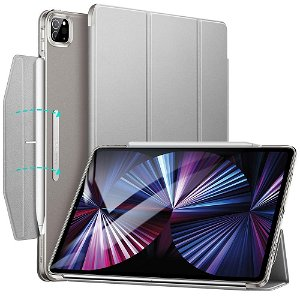 iPad Pro 11 (2021/2020/2018) ESR Ascend Tri-Fold Cover - Grå